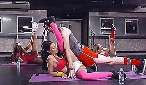 Brazzers - sophia laure receives fucked at one's fingertips one's fingertips one's send mainly one's way yoga omnibus