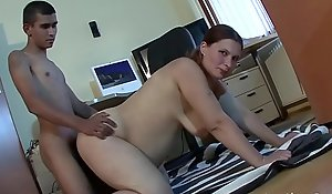 Pregnant chick with regard to saggy tits is getting drilled