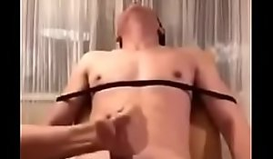 Bounce lad acquires jerked off ergo pleasurable he Bursts roughly make water after cumming