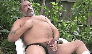 Joe Jerks His Fat Requisites Extensively