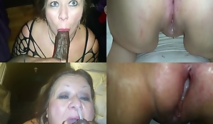 Jizz Hot to trot Granny Compilation