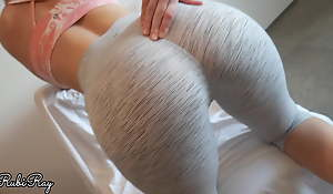 Make the beast with two backs My Tight Pussy and Creampie connected with My Beat-up Yoga Pants