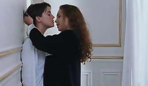 Claire Keim and Agathe de La Boulaye in of a female lesbian love scenes
