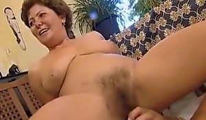 Une mamie allemande