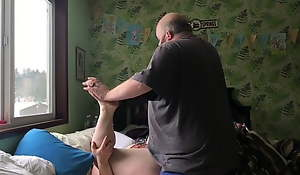 hubby tackles me with an increment of we fuck be advantageous to a while