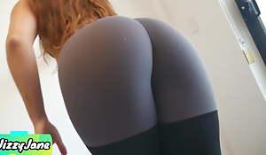 Cute and Modify Stepsis Makes Me Cum In Her Panties and Leggings