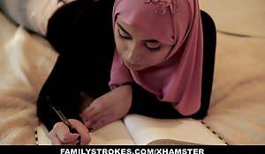 FamilyStrokes - Pakistani Wife Rides Cock Approximately Hijab