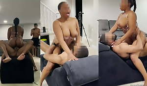 Thick Black wife drilled close to personify of will not hear of husband off out of one's mind friend