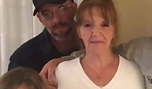 My friends Grandma sought-after at hand try greatest latino young cock