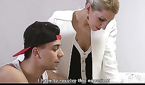 KINKY INLAWS - Stepson gets to please Czech stepmom Vanessa K. to steamy forbidden fuck