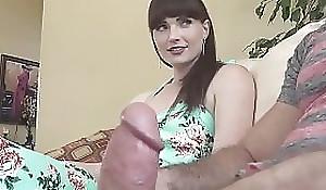 Natalie Mars big cock shemale bonks guy